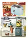 (2 Pc) Brentwood Toaster & Blender W/ Glass Jar