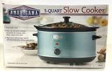 Americana Classics 5 Quart Slow Cooker