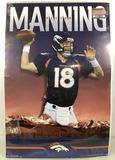 Denver Broncos Peyton Manning Wall Poster