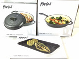 Parini French Oven, 13in Griddle, 10in Frying Pan