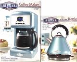 Americana Coffee Maker & 1500 Watt Electric Kettle