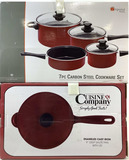 (8pc) Imperial Home, Cuisine Company Cookware