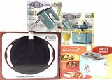Hand Mixer, Citrus Juicer, Toaster, Grill Pan
