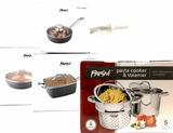 Parini Pasta Cooker Steamer, Egg Poacher, Pans