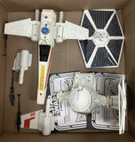 Vintage Star Wars X-wing Fighter & Toys