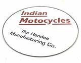 Indian Motorcycle Circle Mirror