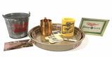 Vintage Miller Beer Trays, Buckets, Coasters, Mug