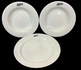 (3pc)  Oneida, Indian Motorcycle Bowls, Plate