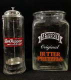 Vintage Dr. Pepper Star Holder, Syfert's Pretzels
