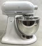 Kitchenaid White Bowl Lift Stand Mixer