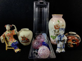 Vintage Asian Style Vases, Figurines, Ornaments