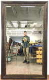 76in Beveled Glass Wall Mirror