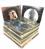 (70) Assorted Vintage Vinyl Records