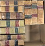 (10pc) Vintage Assorted Books, Decorative