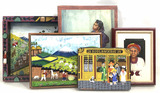 (5pc) Assorted Foreign Culture Oil Paintings