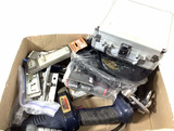 Security Hasps, Lincoln Pneumatic Grease Gun, Case