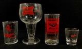 (27pc) Vintage Assorted Miller Beer Glassware