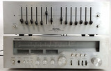 Rotel Stereo Re-700 Equalizer & Rx-504 Receiver