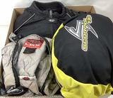 Motorcycle Helmet, Jacket & Gloves