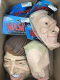 (4 Pc) Cesar Soft Vinyl Political & Fun Masks