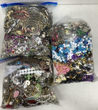 (3pc) Assorted Costume Necklaces & Earrings
