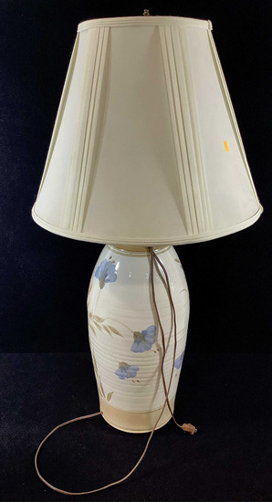 Vintage Pottery Vase Style Table Lamp