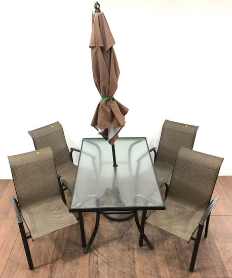 6pc Contemporary Style Patio Set
