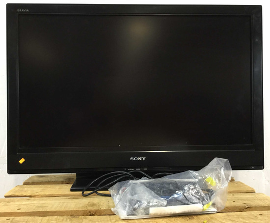 40in Sony T. V. With Remotes