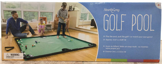 Hearth Song Golf Pool Game Set