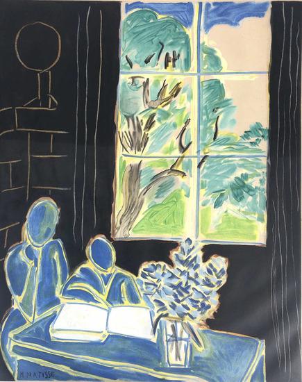 Henri Matisse (1869-1954) Silence Living In Houses