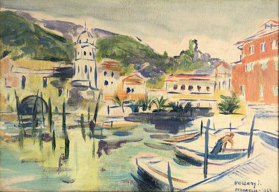 Janos Miklos Vaszary (1867-1939) Oil On Canvas