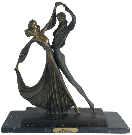 "After Demetre H. Chiparus (1886-1947) "" Tango"""