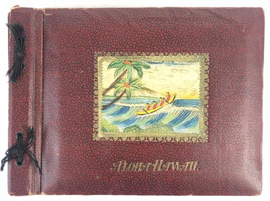 Pre Ww2  Hawaiian Territory  Scrap Book