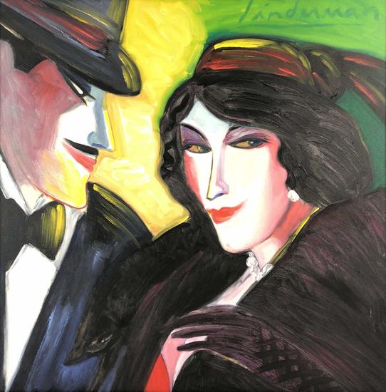 Earl Linderman (b.1931) Oil Painting On Canvas