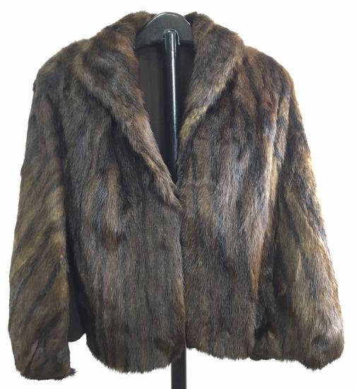 Vintage Ladies Mink Fur Jacket