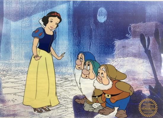 Disney's Snow White Limited Edition Sericel