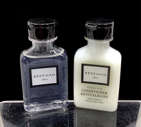 (2) Cases Beekman Shampoo & Conditioner