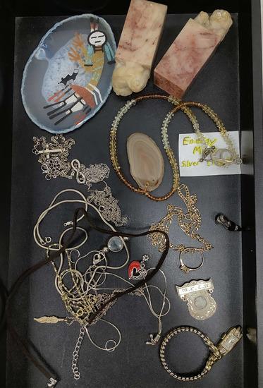 Vintage Silver Necklaces & Accessories