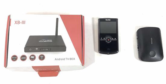 Xb-iii Android Tv Box, Kodak Camera
