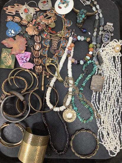 Pins, Pendants, Necklaces & Bracelets