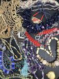 Beaded Costume Jewelry Necklaces