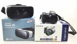 Samsung Gear Vr & Sony Cyber Shot Camera
