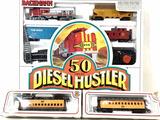 Bachmann Ho Scale Diesel Hustler Train, Trains