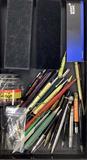 Fisher, Pierre Carolina, Shaffer Pens, Black Ink