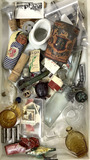 Assorted Vintage Pieces, Advertising Cans, Bottles