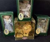 (4pc) Vintage Porcelain Dolls