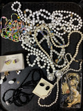 Assorted Vintage Fashion Jewelry, Necklaces