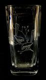 Mid Century Stormberg Crystal Vase