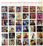Elvis The King Of Rock 'n' Roll, Stamps, Music Cds