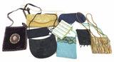 (9pc) Vintage Beaded Fashion Purse, Bags